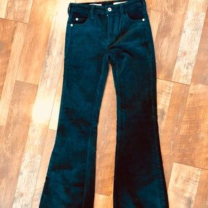 Anthropologie Pants - PILCRO (Anthropolgie) High Rise Bootcut Teal Cords